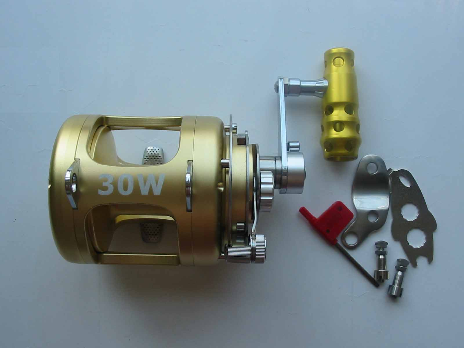 2 Speed Trolling Reels 30W
