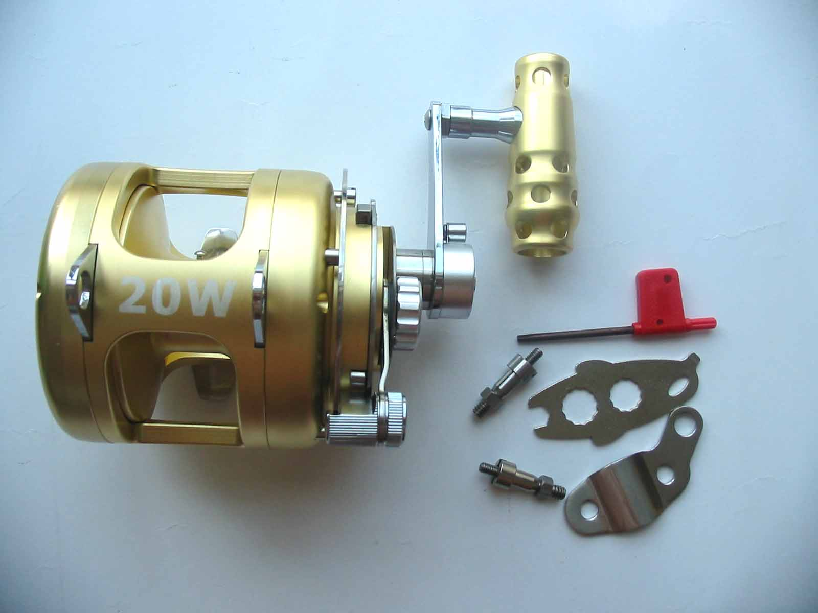 2 Speed Trolling Reels 20W