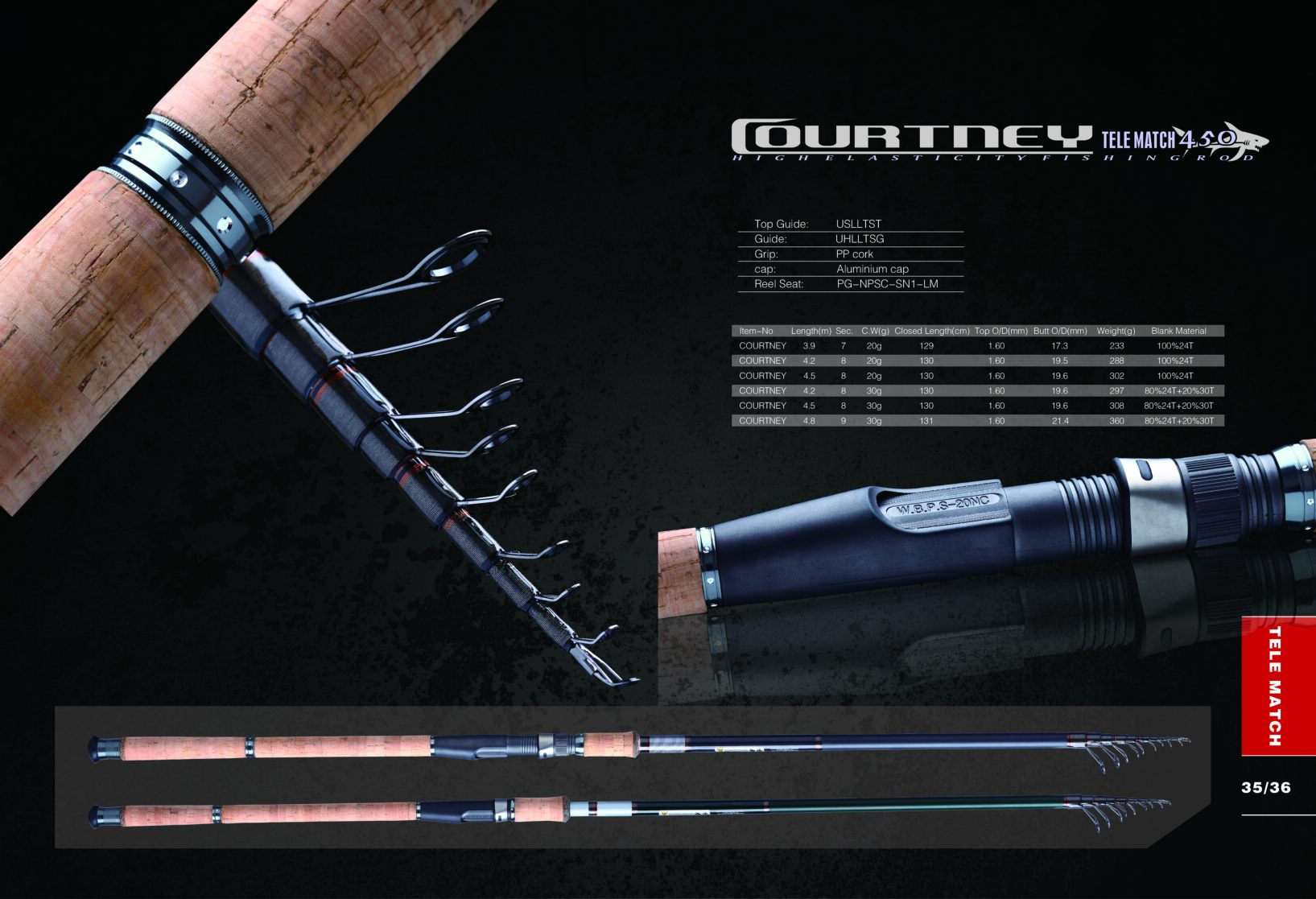 fishing rod p35-36